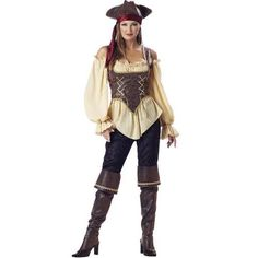 girl pirate costume