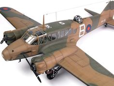 "Avro Anson Mk.I ""Colorful Annie"" Review by Brett Green (Special Hobby 1/48)"