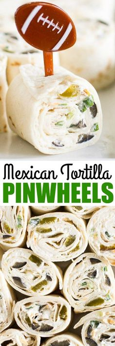Make Mexican Tortilla Pinwheels your go-to snack for any party! The ultra-flavorful cream cheese filling is tasty on tortillas and everything is made ahead.