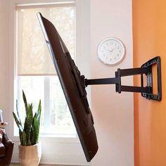 ECHOGEAR Full Motion Articulating TV Wall Mount Bracket & 10 best Best TV Wall Mounts Reviews images on Pinterest