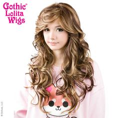 Gothic Lolita Wigs® <br> Duplicity™ Collection - Choco-Latte -00413