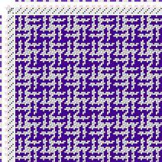 draft image: Figurierte Muster Pl. XVIII Nr. 4, Die färbige Gewebemusterung, Franz Donat, 4S, 4T