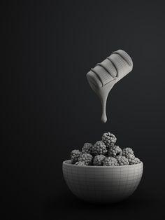 Rich & Delicious by Antonio Luna, via Behance