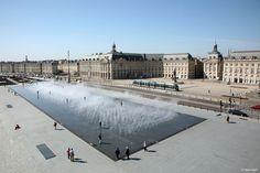 Le miroir d'eau des quais de Bordeaux - Mimèsis