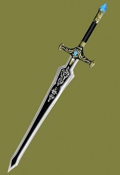 A white sheath would be perfect Fantasy Blade, Fantasy Sword, Fantasy Armor, Dark Fantasy Art, Swords And Daggers, Knives And Swords, Espada Anime, Armas Ninja, Cool Swords