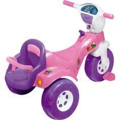 Triciclo Magic Toys Tico Tico Baby, diversão para sua filha.