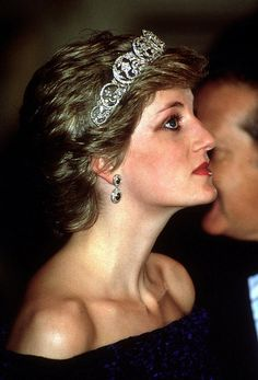 February 1987: Princess Diana in Portugal