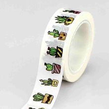A pretty washi paper tape featuring cactus plants.Price is per roll and each roll is x 10 Metres. Washi Tape Set, Duct Tape, Masking Tape, Scrapbooking, Diy Scrapbook, Office Stationery, Mint Blue, Paper Tape, Lettering