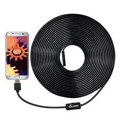 VOLADOR 2 Million Pixels 720P USB Borescope Camera 33ft 2 in1 HD Endoscope Inspection Camera for OTG Android Phones Computers Tablets Waterproof Snake Camera Borescope Endoscope Inspection Computers Waterproof is a popular choice from the top selling products online in Industrial category in Canada. Click below to see its Availability and Price in YOUR country.