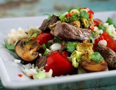 Du søgte efter Wok - Page 2 of 2 - Hjerteforeningen Asian Recipes, Foodies, Beef, Drinks, Mushroom, Meat, Drinking, Beverages, Drink