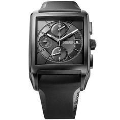 http://www.horloger-paris.com/fr/3975-maurice-lacroix-pontos   Maurice Lacroix Pontos Rectangulaire Chronographe Full Black Petite Seconde - Automatique - Céramique noire - 38 * 43 mm - 50 m ...
