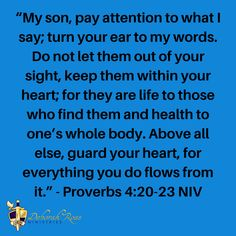 VERY IMPORTANT: Keep your heart and protect your future. Guard Your Heart, Pay Attention, Encouragement, Faith, Let It Be, Future, Sayings, Words, Life