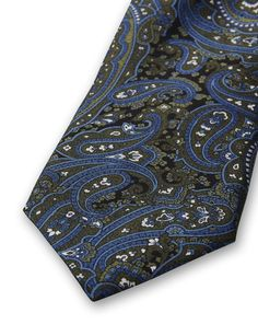 Parasti  tie-Men's tie in pure silk. Features a printed paisley pattern. Tiger of Sweden logo on lining. Width: 7 cm. Made in Italy