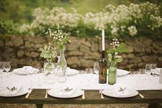 how to dress up a picnic table for a wedding - Google Search