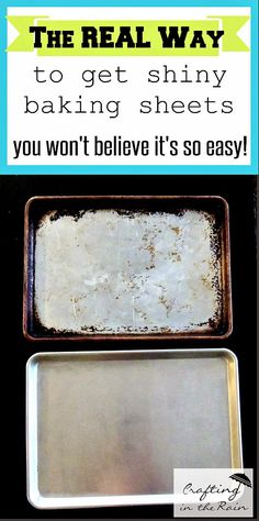 Finally, a way that works to get shiny baking sheets again!