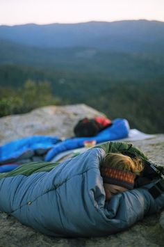 Sleep on a mountain.