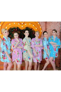 Items similar to bridesmaids robes silk best bridesmaids gifts wedding  kimono personalized bridal shower gifts bridal party dressing gowns  monogrammed SJP00 ... d5a680e8c