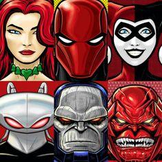 DC HEROES & VILLAINS portraits •Terry Huddleston