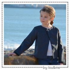 Jolie veste Nougat de Lou and Me