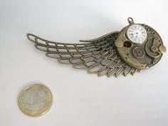 Steampunk Flügel Brosche Schmuck Larp