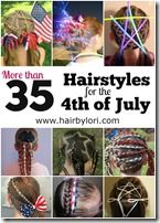 More than 35 Hairstyles for the 4th of July