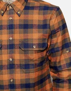 Image 3 of Fjallraven Shirt with Flannel Check