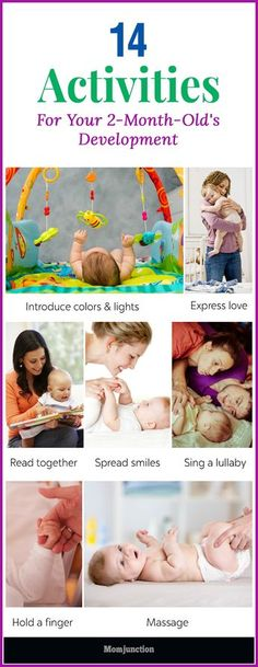 Activities for a 2-month-old can help develop his social and learning skills. Read on to know these simple yet effective activities.