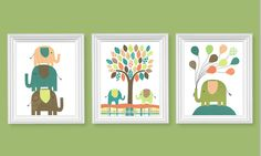 https://www.etsy.com/es/listing/184930391/elephant-nursery-art-brown-citron-green?ref=related-0