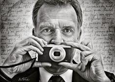 My portrait of Francois de Brigode famous journalist and news presenter at RTBF Info but also a photography lover  Mon portrait de Francois de Brigode célèbre journaliste et présentateur du journal RTBF mais aussi un passionné de photographie  #benheineart #benheinephotography #francoisdebrigode #portrait #gear360 #journal #journaliste #news #rtbf #brussels #bruxelles #presentateur #television #newsreader #newspresenter #photographer #camera #drawing  #journalist #art #appareil #fujifilm…