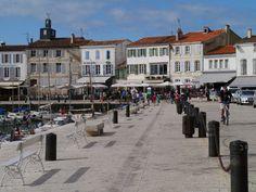La Flotte harbour, Ile de Ré