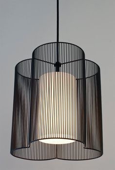 Clover Pendant Light hand crafted wireform with inner white glass shade diffuser Plug In Pendant Light, Large Pendant Lighting, Modern Pendant Light, Pendant Lamps, Pendant Lights, Pendant Light In Bathroom, Modern Lamps, Chandeliers, Entryway Light Fixtures