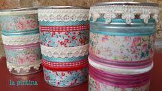 latas decoradas/ decorated cans