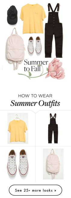 """Summer Outfits : """"Brandy Melville outfit"""" by louloum1707 on Polyvore featuring Holliste"""