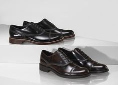 Contemporary sophistication: Tod's polished calf leather lace-up #shoes with zigzag stitching.