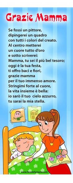 Diy And Crafts, Crafts For Kids, Italian Vocabulary, Italian Lessons, Italian Phrases, Italian Language, Learning Italian, Mamma Mia, Mothers Day Crafts