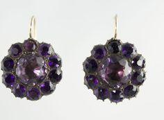 Georgian Paste Earrings, ca.1800