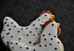 The Cookie Jar: Chicken sugar cookies