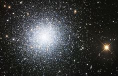 Astronomers have found that stars are like to congregate just like people! This globular cluster contains millions of stars (Photo: Rob Gendler)