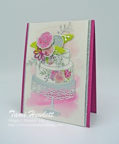 Cake Soiree | Swimming In Stamps