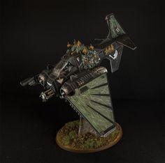 Warhammer 40K Dark Angels Ravenwing Dark Talon Painted | eBay