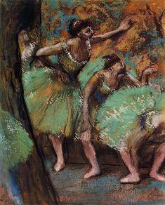 Dancers by @edgar_degas #impressionism