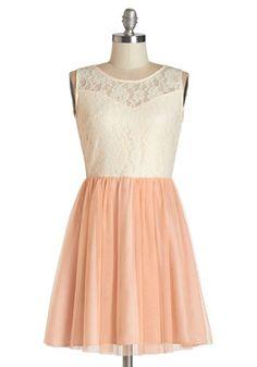 Everything's Peachy Dress | Mod Retro Vintage Dresses | ModCloth.com