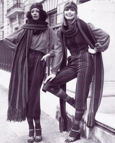 70's street fashion       '70s fashion on the streets.