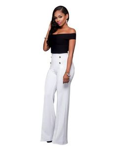 fbd78c828b12 New women s new summer dew shoulder jumpsuits sexy fashion leisure jumpsuits  Rompers 2 pieces