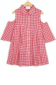 Plaid Cutout Sleeveless Peasant Top - OASAP.com