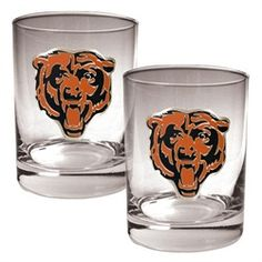 Chicago Bears Rock Glass Set of Two