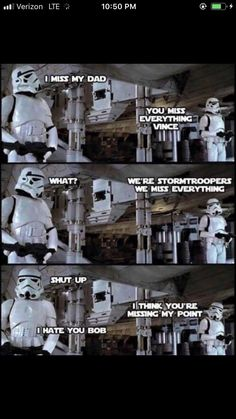 Memes are so funny. I start my day with all kinds of memes. I look through mostly sarcastic memes, dark humor memes and any hilarious memes I can find. Dank memes got me laughing all day. It's the highest form of humor. Simbolos Star Wars, Star Wars Jokes, Funny Star Wars, Star Wars Comics, Starwars, Rasengan Vs Chidori, Clone Wars, Funny Jokes, Sarcastic Memes