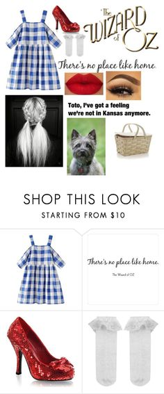 """""""Dorothy and toto - wizard of oz"""" by mbubbles109 ❤ liked on Polyvore featuring WALL, Funtasma, Monsoon, Ultimate and Crate and Barrel"""