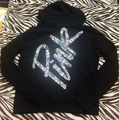 Victoria Secret PINK Bling Hoodie Zip Up Sweatshirt Large NWT! Pink Brand, Secret Love, Victoria Secrets, Victoria Secret Outfits, Victoria Secret Pink, Everything Pink, Zip Hoodie, Pink Clothes, Pretty In Pink