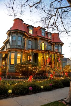 Cape May at Christmas. Winter, holidays, Cape May Point, Ocean City, Jersey Cape, Cape May County, New Jersey